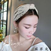 蘇菲兒韓國頭箍超仙簡約清新頭飾
