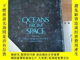 二手書博民逛書店OCEANS罕見FROM SPACEY15335