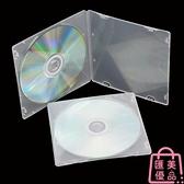 【50片】PP光盤盒12CM光碟盒DVD單片裝CD收納盒【匯美優品】