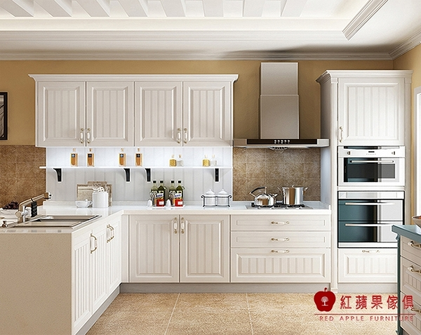 [紅蘋果傢俱] LC-10 全屋訂製 櫥櫃 系統櫃 大裡石櫥櫃 廚具 客制化產品