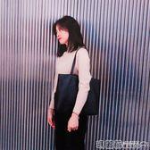 托特包 韓版女包潮簡約百搭手提包學生書包托特包休閒單肩大包包 瑪麗蘇