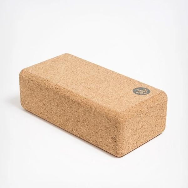 Manduka Lean Cork Block 軟木質瑜珈小磚