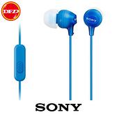 (0利率)SONY MDR-EX15AP (藍色)  智慧型手機專用 全面支援 Android™、iPhone、Blackberry