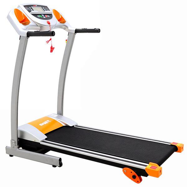 平板架+時速12公里大黃蜂3HP電跑美腿機電動跑步機(3坡度+10組避震墊)運動健身器材山司伯特推薦
