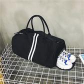 鞋位健身包旅行包女手提正韓短途行李包運動旅游包男大容量旅行袋ZDX