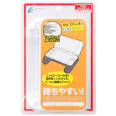 New2DSLL專用 日本 CYBER GADGET 小型超薄 多功能輔助握把 白色款 非2DS用【玩樂小熊】