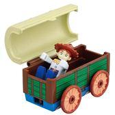 TOMICA 玩具總動員小汽車 翠絲&玩具盒_DS84471