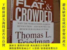 二手書博民逛書店Hot罕見Flat and Crowded: Why The W