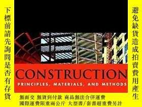 二手書博民逛書店Construction:罕見Principles, Mater
