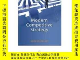 二手書博民逛書店Modern罕見Competitive StrategyY307751 Gordon Walker Mcgra