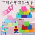 玩具 兒童塑膠積木桌拼圖拼裝拼插玩具益智大顆粒大號寶寶智力開發動腦