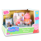 【鯊玩具Toy Shark】粉紅豬小妹 廚房玩具組