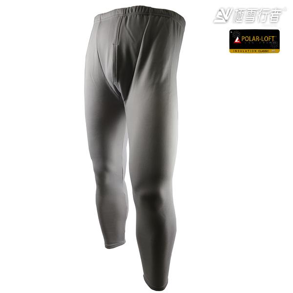 [極雪行者]SW-PLK300(男)淺灰/最強內層褲/軍用polar-loft(24h)150g/m2全防風複合雙層絨面加厚內層褲