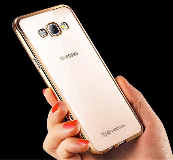 電鍍TPU 軟套  SAMSUNG GALAXY  A8  A7手機殼 保護殼 手機邊框  手機套