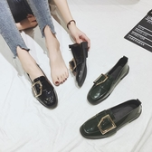 ins小皮鞋女學生韓版百搭ulzzang潮復古英倫chic單鞋秋季 歐韓流行館
