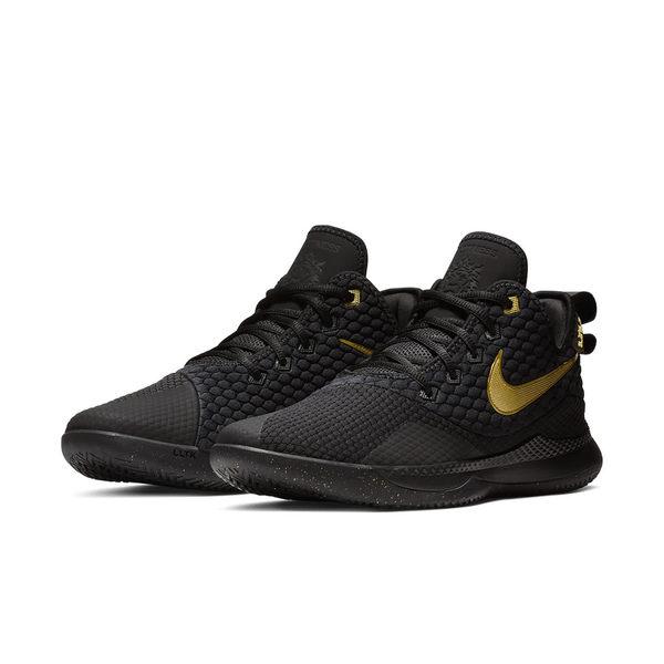 ▲Nike 籃球鞋 LeBron Witness III EP 三代 黑 金 James 運動鞋 男鞋 AO4432-003