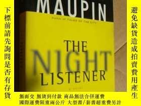 二手書博民逛書店The罕見Night Listener 英文原版大32開Y857