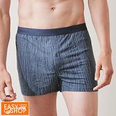 EASY SHOP-iONNO-寬鬆自在男性大平口內褲-深海藍