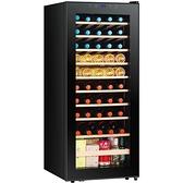 紅酒櫃 紅酒櫃 紅酒櫃電子恒溫保鮮茶葉家用冷藏冰吧壓縮機玻璃展示 快速發貨