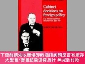 二手書博民逛書店Cabinet罕見Decisions On Foreign PolicyY255174 Christopher