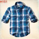 HCO Hollister Co. 男 當季最新現貨 襯衫 Hco H151