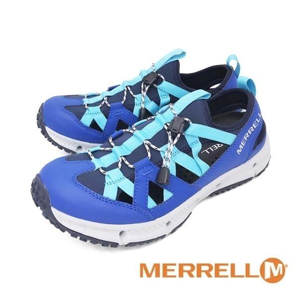 【南紡購物中心】MERRELL(男)HYDROTREKKER SYNTHETIC 水陸兩棲鞋 男鞋 -藍