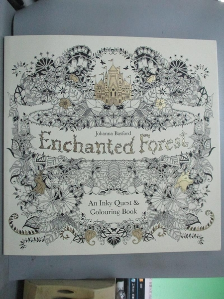 【書寶二手書T5/藝術_WGN】Enchanted Forest_Johanna Basford