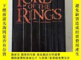 二手書博民逛書店The罕見Lord of the Rings 7本裝 帶函套 指