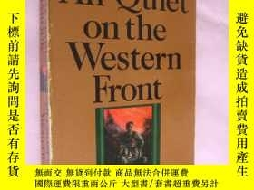二手書博民逛書店All罕見Quiet on the Western Front