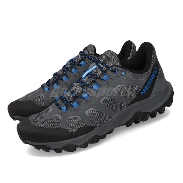 Merrell 戶外鞋 Fiery 灰 藍 男鞋 運動鞋 登山 健走 【ACS】 ML16595