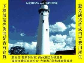 二手書博民逛書店Western罕見Great Lakes Lighthouses (Lighthouse Series)-西五大湖