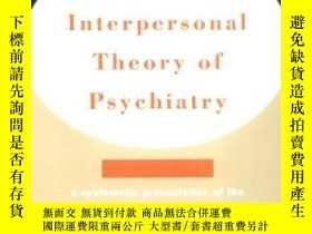 二手書博民逛書店The罕見Interpersonal Theory Of PsychiatryY364682 Harry St