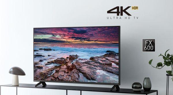 《名展影音》 Panasonic國際 TH-43FX600W 43吋4K HDR智慧網路電視 另售TH-49FX600W