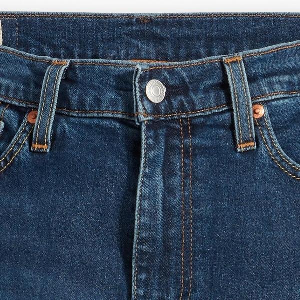 Levis 男款 上寬下窄 512 低腰修身窄管牛仔褲 / 精工深藍漂洗 / Flex彈力機能布料 / 天絲棉