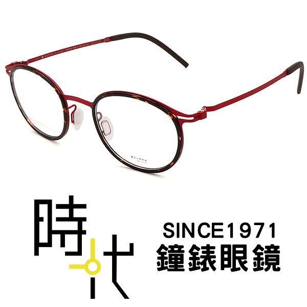 【台南 時代眼鏡 VYCOZ】DURRA 9系列 光學眼鏡鏡框 DR9006 RED-H 韓系時尚簡約俐落風格 50mm