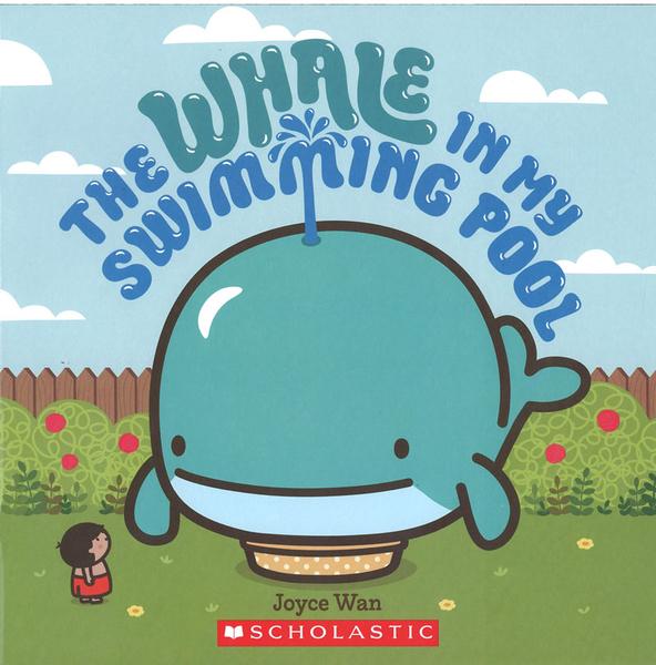 【麥克書店】THE WHALE IN MY SWIMMING POOL /英文繪本《主題:想像力》