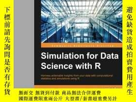 二手書博民逛書店Simulation罕見For Data Science With RY364682 Matthias Tem