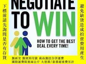 二手書博民逛書店Negotiate罕見To WinY255562 Jim Thomas Harpercollins 出版20