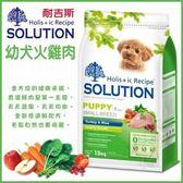 *WANG*耐吉斯SOLUTION-幼犬/火雞肉+田園蔬果飼料-1.5kg