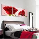 無框畫裝飾畫玫瑰花愛戀三聯畫客廳沙發背景臥室壁畫版畫
