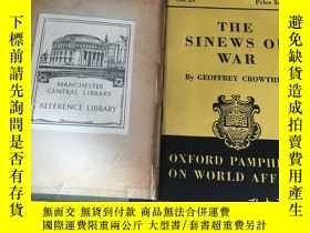 二手書博民逛書店the罕見sinews of war by geoffrey c