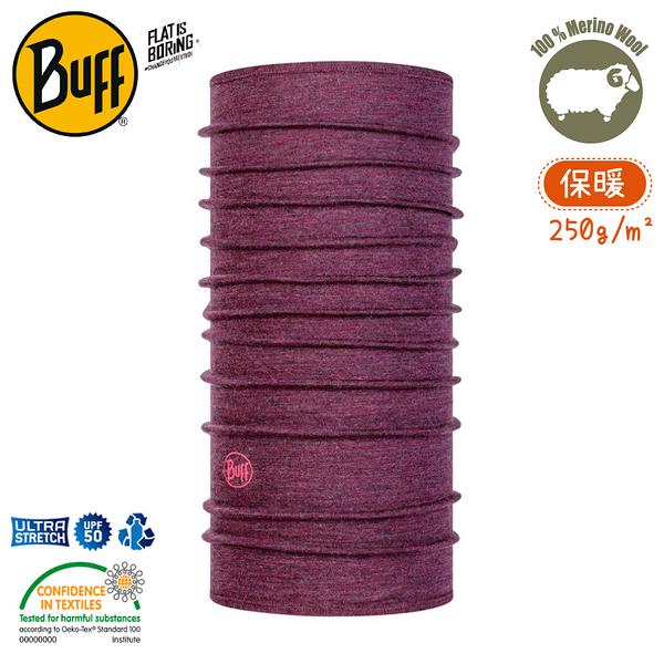 【BUFF 西班牙 美麗諾羊毛織色頭巾-保暖 紫色大理花】113022/圍脖/帽子/口罩/吸溼排汗/抗菌除臭