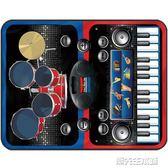 電子琴 兒童寶寶爵士架子鼓電子琴鋼琴毯早教益智音樂女孩男孩玩具初學者  潮先生igo
