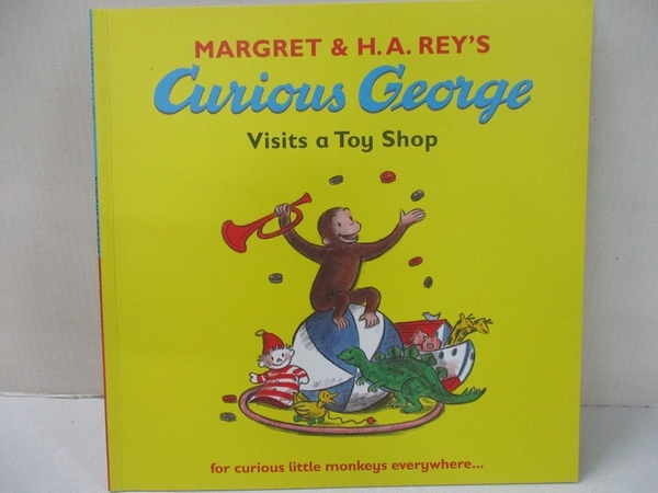 【書寶二手書T9/少年童書_JDI】Curious George Visits a Toy Shop_Margret,H. A. Rey