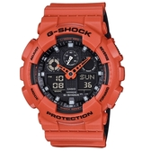 CASIO/G-SHOCK/酷炫自我風格運動腕錶/GA-100L-4A