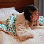 兒童單人「全棉加絨」嬰兒毛毯床單蓋毯雙層加厚寶寶伴手禮盒  居樂坊生活館YYJ