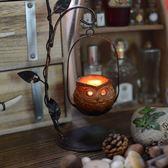 歐式鐵藝燭台 復古創意擺件燭台蠟燭 咖啡廳酒吧茶館居家裝飾用品【限時八五折】
