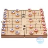 象棋 象棋實木木質中國象棋棋盤成人木製橡棋兒童中小學生培訓文體用品T 1色