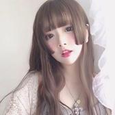 假髮女 公主切女cos偽娘變裝日常lolita網紅中長髮日系長髮姬髮式 瑪麗蘇
