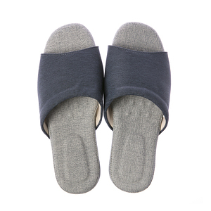舒活緩壓乳膠拖鞋-湛藍M